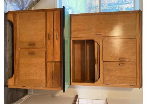 1930's Hoosier Style Cabinet