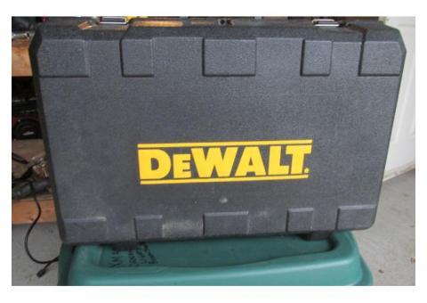 18 volt DeWalt cordless set